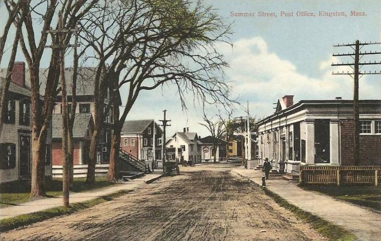 Summer Street, Post Office, Kingston, MA