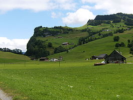 Skyline of Unteriberg