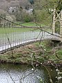 Suspension Foot Bridge - Betws-Y-Coed - geograph.org.uk - 1712761.jpg