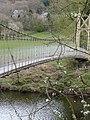 Suspension Foot Bridge - Betws-Y-Coed - geograph.org.uk - 1712761.jpg