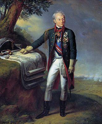 Alexander Suvorov - A.V. Suvorov by Charles de Steuben