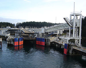 Swartz Bay Ferry Terminal - Berth 1 at Swartz Bay Ferry Terminal.