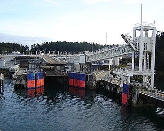 Swartz Bay Ferry Terminal - Berth 1 at Swartz Bay Ferry Terminal.