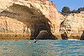 Swimming around the most famous sea cave on the Algarve coast.jpg