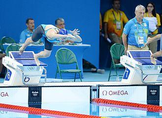 Azerbaijan at the 2016 Summer Olympics - Fatima Alkaramova swam in the women's 100 metre freestyle.