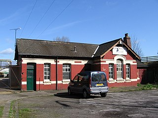 Swinton Town railway station