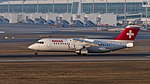 Swiss British Aerospace Avro 146-RJ100 HB-IYZ MUC 2015 01.jpg