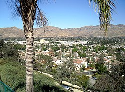 View Of Sylmar Facing North