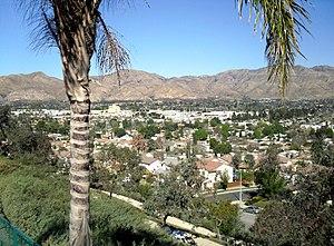 Sylmar, Los Angeles - View of Sylmar, facing north