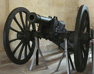 Year XI system - Canon de 6 système An XI, founded in Douay in 1813.