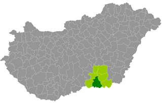 Szeged District Districts of Hungary in Csongrád