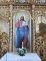 Szent Mihály templom, képállvány, Jézus, 2017 Máriapócs.jpg