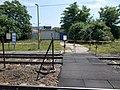 Szigetszentmiklós alsó megállóhely és az ÁTI-Sziget Ipari Park 2. porta, 2019 Szigetszentmiklós.jpg