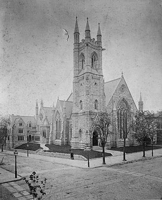 Theophilus P. Chandler Jr. - Image: Tabernacle Presbyterian West Philadelphia