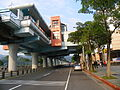 Taipei Zoo Station South Side and Exit2.JPG