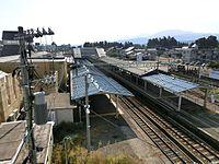 Takada station yard.JPG
