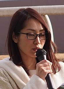Tani Momoko (谷桃子) at Kawasaki racecourse, in Jan 2015.jpg
