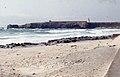 Tarifa Beach. Sand scoured by May gales. 3 May 175 (23903970418).jpg