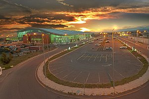 Tbilisi International Airport - Image: Tbilisi airport 1