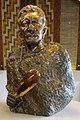 Te Heuheu Tūkino IV, statue in Tongariro National Park Visitor Centre.JPG