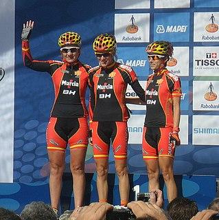 Eneritz Iturriaga Spanish cyclist