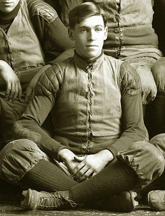 Theodore M. Stuart - Stuart from 1904 Michigan team portrait