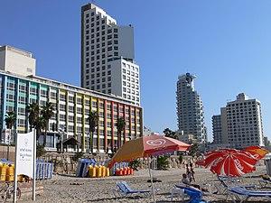 Dan Hotel, Tel Aviv - Dan Hotel beachfront
