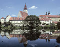 Telc viewed across the ponds.jpg