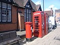 Telephone boxes in Henley Street - geograph.org.uk - 943578.jpg