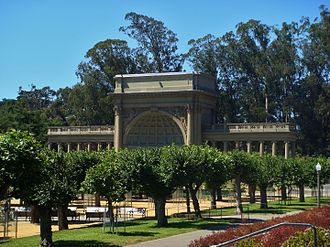 Claus Spreckels - Sprekels Temple of Music in Golden Gate Park