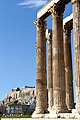 Temple of Olympian Zeus with Acropolis in background.jpg