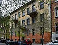 Tenement (1907, designed by arch. Wladyslaw Kaczmarski), 5 Siemiradzkiego street, Krakow, Poland.jpg