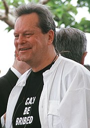 Terry Gilliam au festival de Cannes 2001