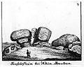 Teufelsstein Pließkowitz bzw. Klein Bautzen von Karl Benjamin Preusker 1844.jpg