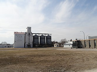 Teulon - Image: Teulon grain elevators