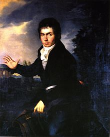Thayer's copy of Joseph Willibrord Mähler's portrait of Beethoven.jpg