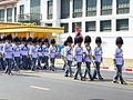 The 1st Engineer Battalion, King's Guard in the procession of Princess Galyani Vadhana's royal urn.jpg