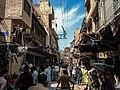 The Bazaar outside Wazir Khan Mosque.jpg
