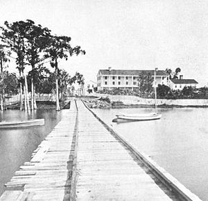 Enterprise, Florida - The Brock House in 1876