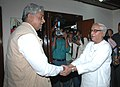 The Chief Minister of West Bengal, Shri Buddhadeb Bhattacharjee meeting the Minister of State (Independent Charge) of Coal, Statistics and Programme Implementation, Shri Sriprakash Jaiswal, in New Delhi on October 23, 2009.jpg