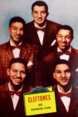 The Cleftones in 1957