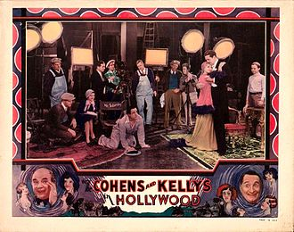 The Cohens and Kellys in Hollywood - Theatrical release poster