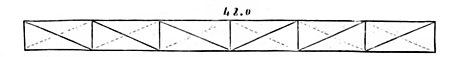 DIAGRAM OF 48-FEET GIRDER.