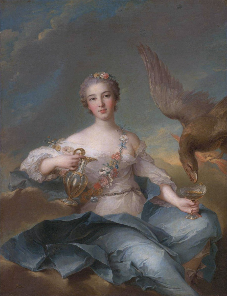 The Duchesse de Chartres as Hebe by Jean Marc Nattier and Studio