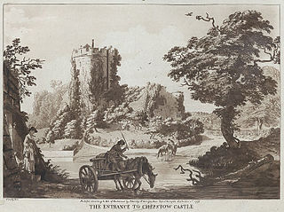 The Entrance to Chepstow Castle