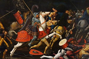 Jan Rombouts I - The Conversion of St. Paul (detail)