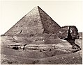 The Great Pyramid and The Great Sphinx MET DP132062.jpg