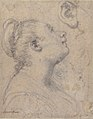 The Head and Shoulders of a Woman in Profile; Separate Studies of Her Head and Ear (recto); Fragment of Drapery Study, Profile of Architectural Molding (verso). MET 2004.293a.jpg