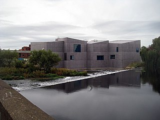 The Hepworth Wakefield Art Gallery in West Yorkshire, England