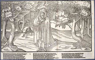 Rory O'More - Rory O'More from Englishman John Derrick's The Image of Irelande, with a Discoverie of Woodkarne.